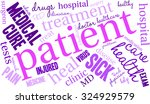 patient word cloud on a white... | Shutterstock .eps vector #324929579