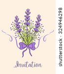 vector spring background with...   Shutterstock .eps vector #324946298