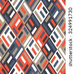 vector seamless rhombus pattern.... | Shutterstock .eps vector #324991730