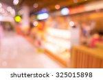 blur city lifestyle | Shutterstock . vector #325015898