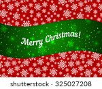 merry christmas theme banner... | Shutterstock .eps vector #325027208