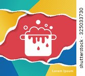 pot icon | Shutterstock .eps vector #325033730
