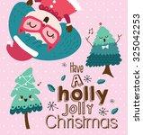 christmas card   Shutterstock .eps vector #325042253