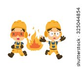 health and safety  safety first ... | Shutterstock .eps vector #325044854