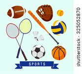 sports vector design... | Shutterstock .eps vector #325052870