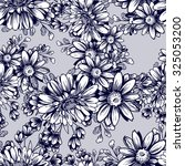 abstract elegance seamless... | Shutterstock .eps vector #325053200
