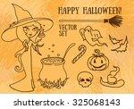 set of vector illustrations for ... | Shutterstock .eps vector #325068143