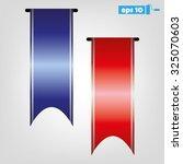 ribbons | Shutterstock .eps vector #325070603