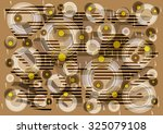 fascinating    delicate  unique ... | Shutterstock . vector #325079108
