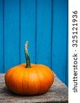 halloween pumpkin ready to be... | Shutterstock . vector #325121936