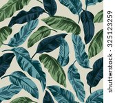 seamless exotic pattern with... | Shutterstock .eps vector #325123259