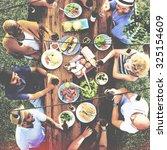 friends friendship outdoor... | Shutterstock . vector #325154609