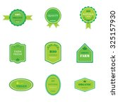 set of labels and logos for... | Shutterstock . vector #325157930