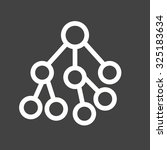 nodes  network  connected ... | Shutterstock .eps vector #325183634