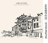 Singapore China Town Drawing....