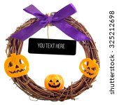 Halloween Welcome Wreath ...