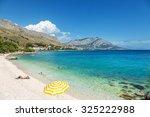 beautiful scenic beach close to ... | Shutterstock . vector #325222988
