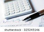 business concept financial... | Shutterstock . vector #325245146