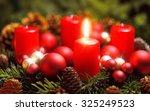 studio shot of a nice advent...   Shutterstock . vector #325249523
