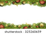 christmas isolated illustration | Shutterstock . vector #325260659