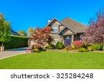 luxury house in vancouver ... | Shutterstock . vector #325284248
