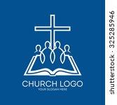 Church Logo. United In Christ ...
