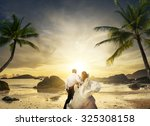 Romantic Mature Couple On The...