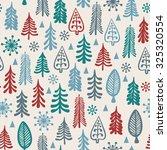 seamless background for winter... | Shutterstock .eps vector #325320554