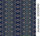 ethnic seamless pattern.... | Shutterstock .eps vector #325333943