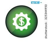 gear dollar | Shutterstock .eps vector #325344950