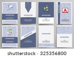 corporate identity vector... | Shutterstock .eps vector #325356800