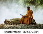 Novice Monk Learning In The...