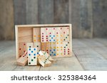 Wood Domino Game