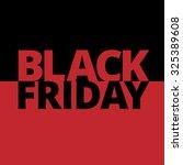 black friday hot sale  | Shutterstock .eps vector #325389608