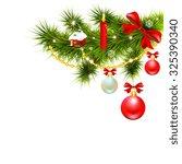 christmas design | Shutterstock .eps vector #325390340