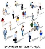 diverse diversity ethnic...   Shutterstock . vector #325407503