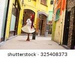 portrait of a woman | Shutterstock . vector #325408373