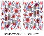 elegant   delicate  unique ... | Shutterstock . vector #325416794
