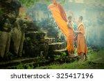 Asia Two Novices At Ayutthaya...