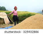 sapa  vietnam   sep 4  hmong... | Shutterstock . vector #325432886