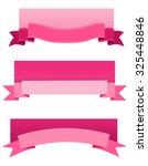 pink breast cancer awareness...   Shutterstock . vector #325448846