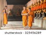 Novices At Ayutthaya Historica...