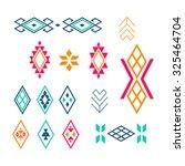 tribal elements  ethnic... | Shutterstock . vector #325464704