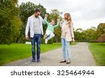 family  parenthood  adoption... | Shutterstock . vector #325464944