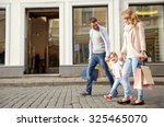 sale  consumerism and people... | Shutterstock . vector #325465070