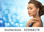 people  holidays  jewelry ... | Shutterstock . vector #325468178
