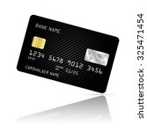realistic detailed credit card... | Shutterstock .eps vector #325471454