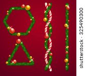 Christmas Border Vector Art An...