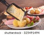 raclette | Shutterstock . vector #325491494