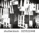 halftone collage of fragments... | Shutterstock .eps vector #325522448
